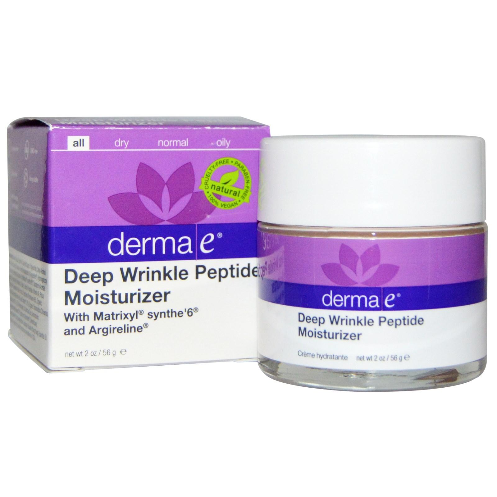 Пептидное увлажняющее средство от глубоких морщин от Derma E (56 г)