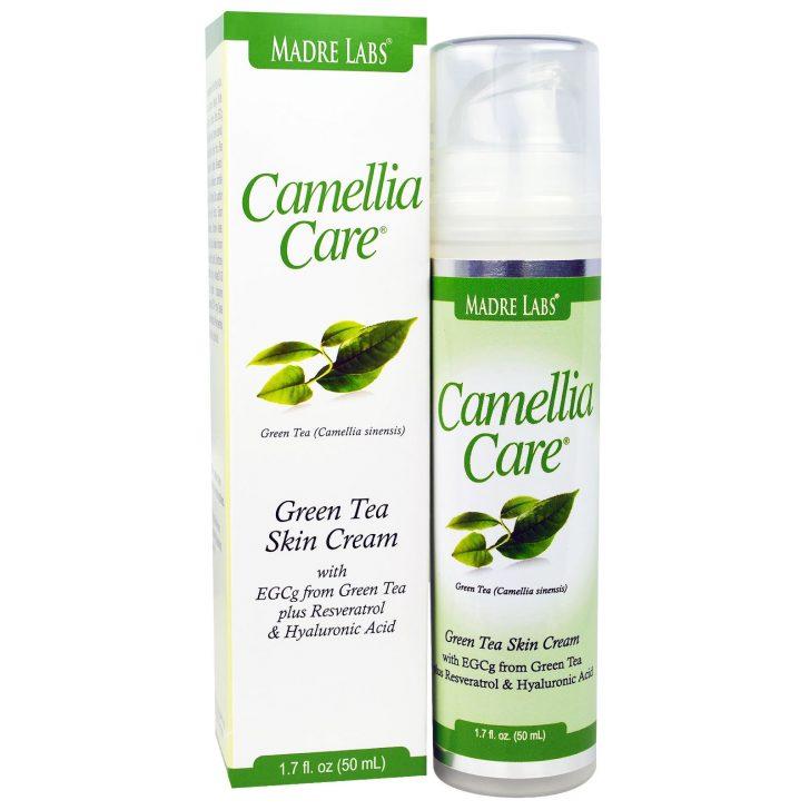 Крем для кожи с зеленым чаем Camellia Care от Madre Labs (50 мл)