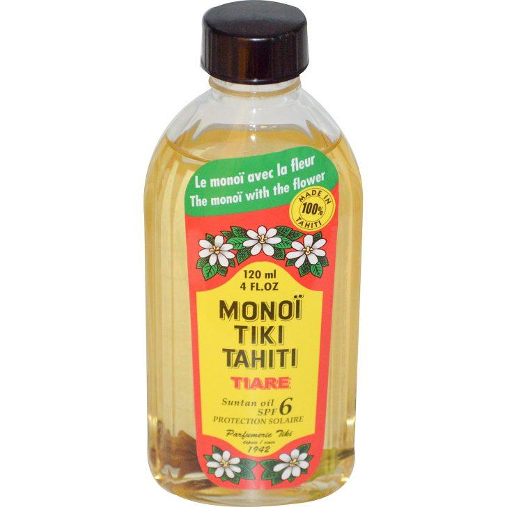 Масло для загара с защитным фактором SPF 6 Monoi Tiare Tahiti (120 мл)