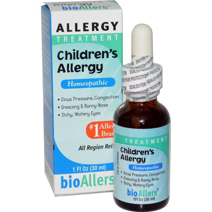 NatraBio, BioAllers, лечение детской аллергии
