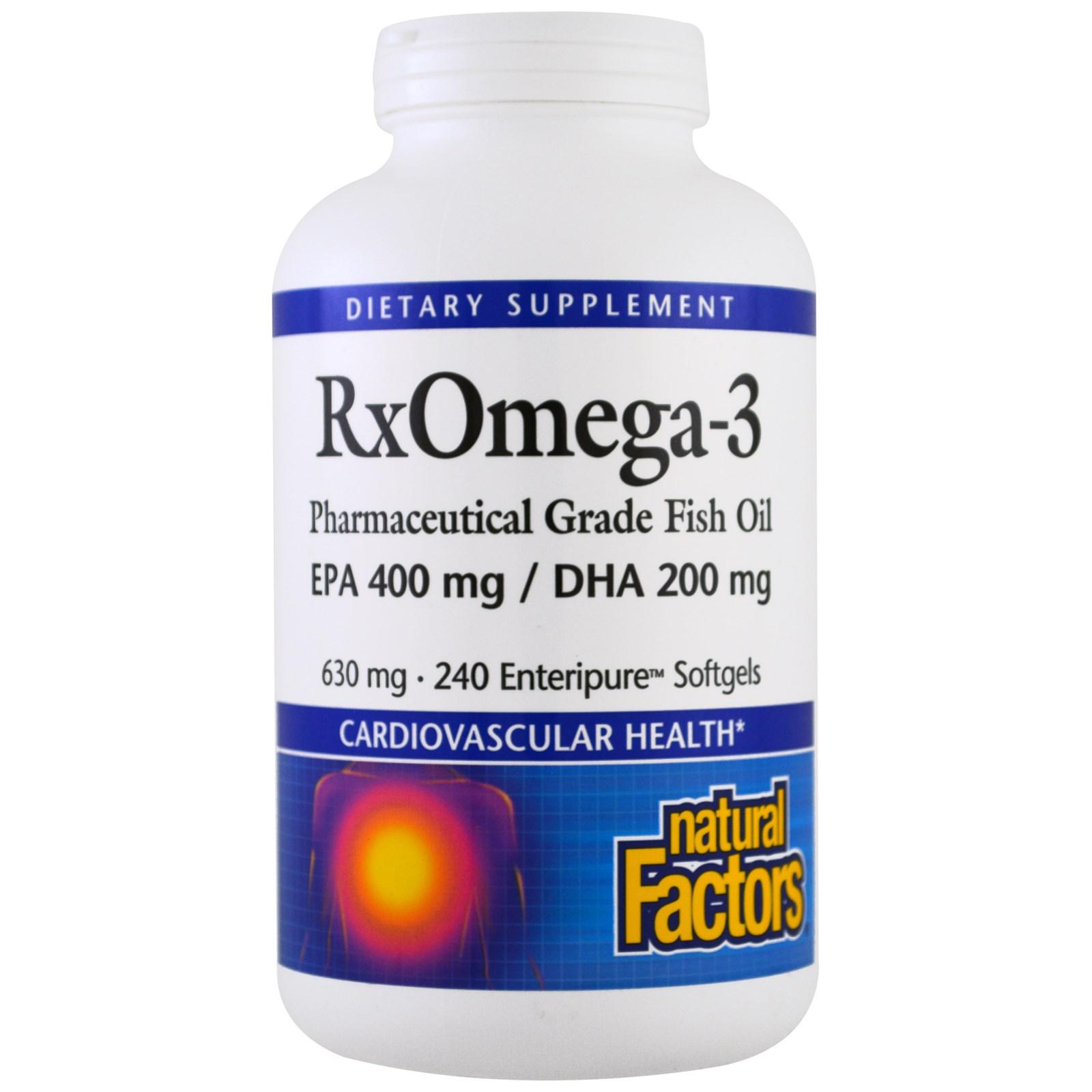 Natural Factors, Rx Omega-3