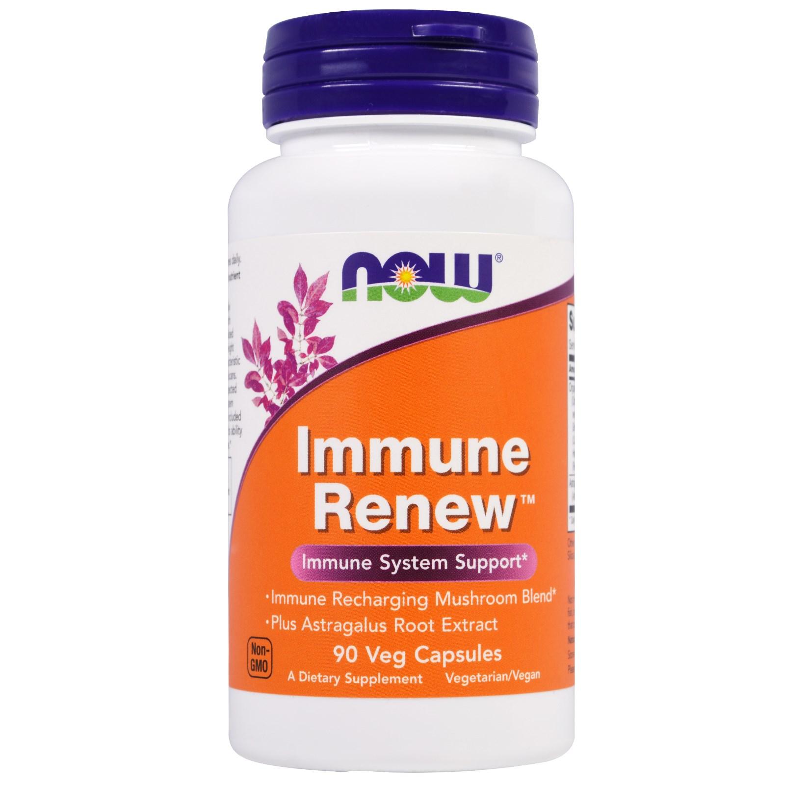 Комплекс Immune Renew в капсулах, Now Foods (90 штук)