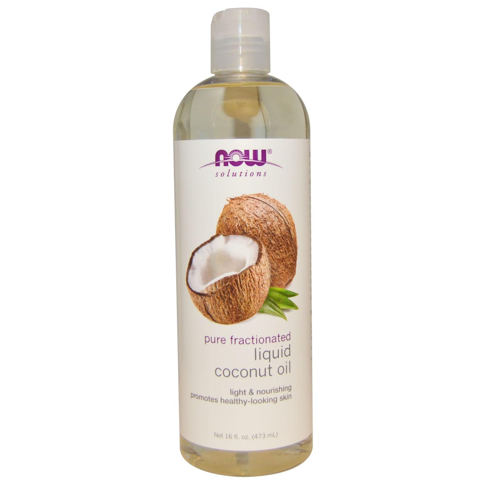 Now Foods, Жидкое кокосовое масло