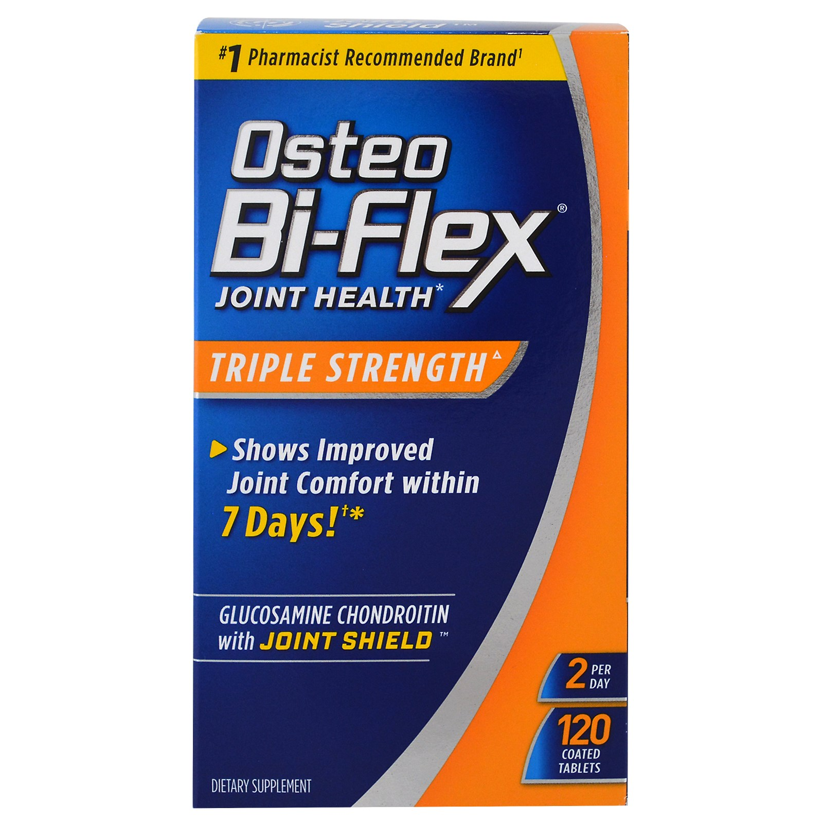 Osteo Bi-Flex, Glucosamine Chondroitin with 5-Loxin Advanced Joint Care, Утроенная сила в таблетках (120 штук)