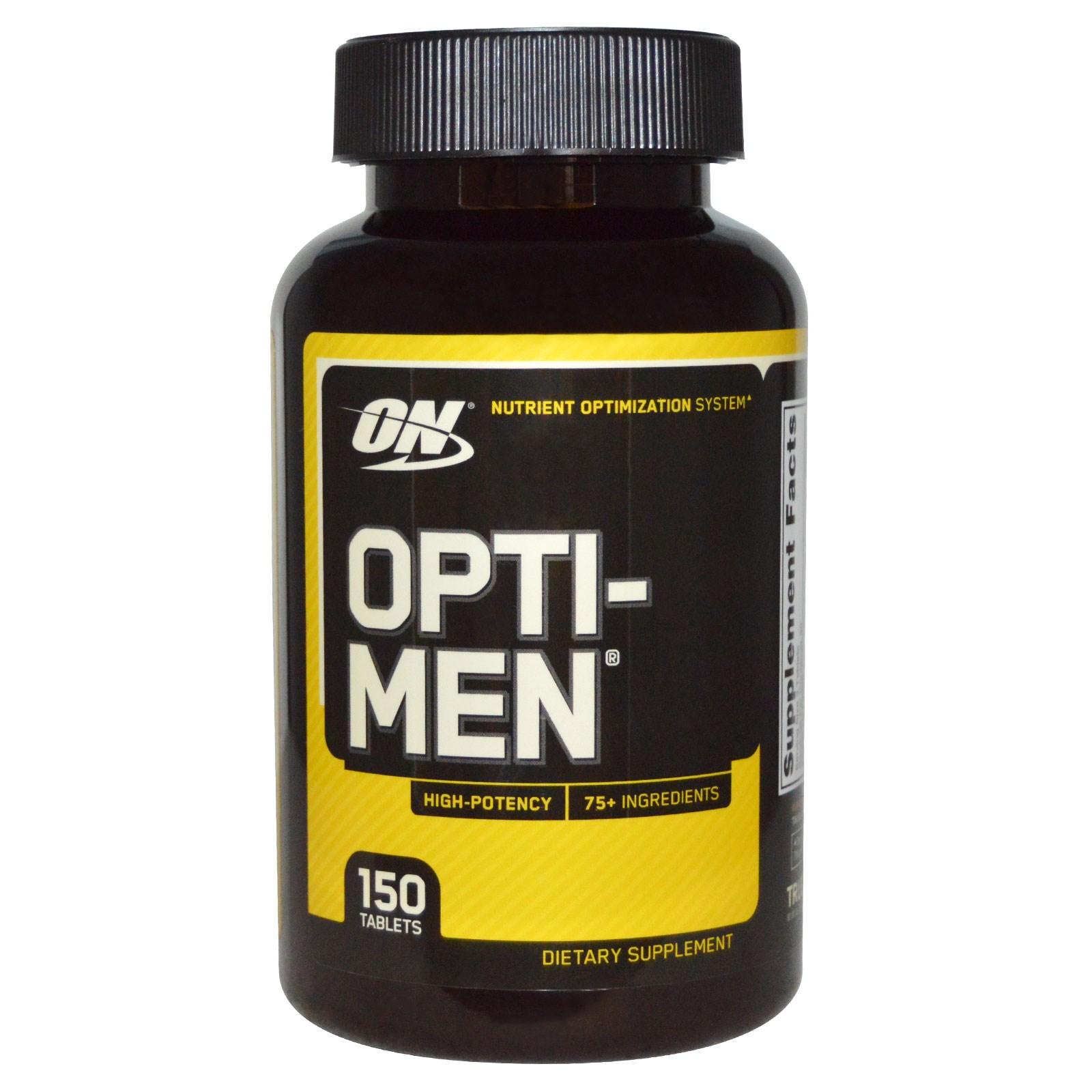 Opti-Men в таблетках (150 штук) от Optimum Nutrition.