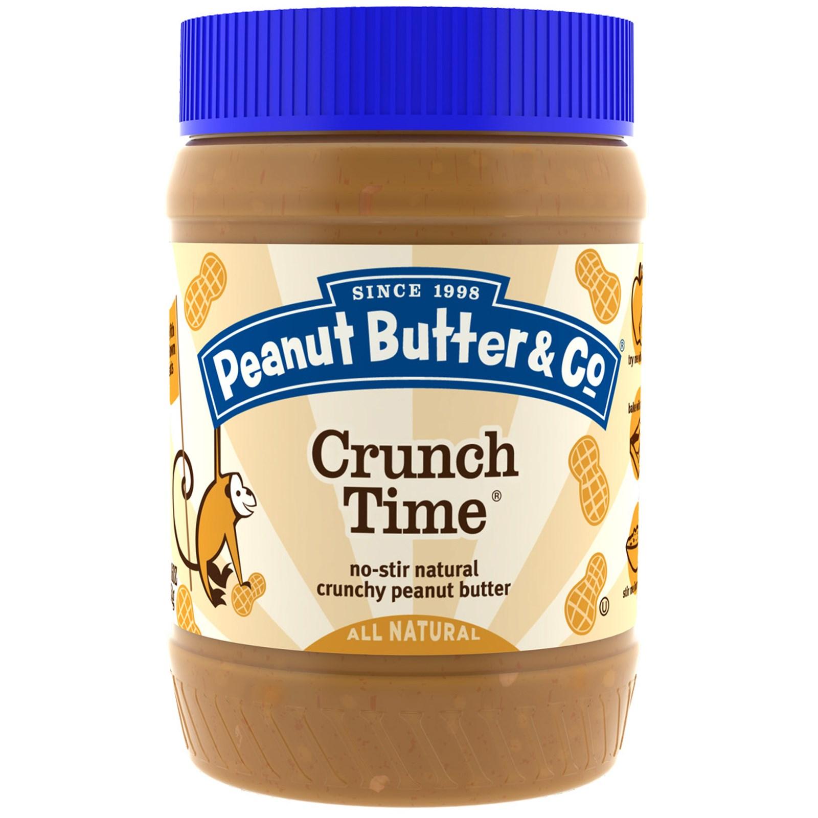 хрустящее арахисовое масло с кусочками ореха и тростниковым сахаром