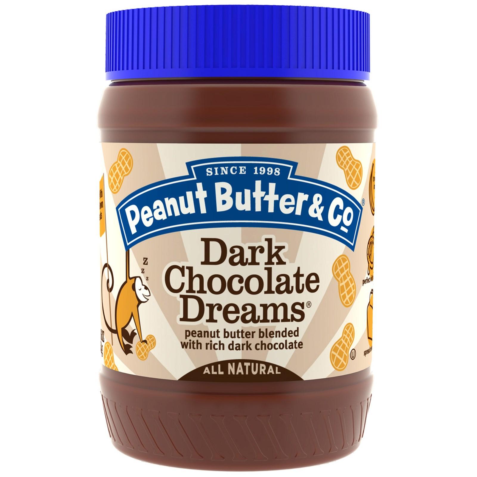 арахисовое масло с черным шоколадом