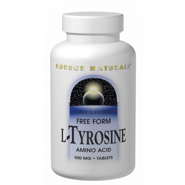 L-Тирозин Source Naturals в таблетках (100 штук)