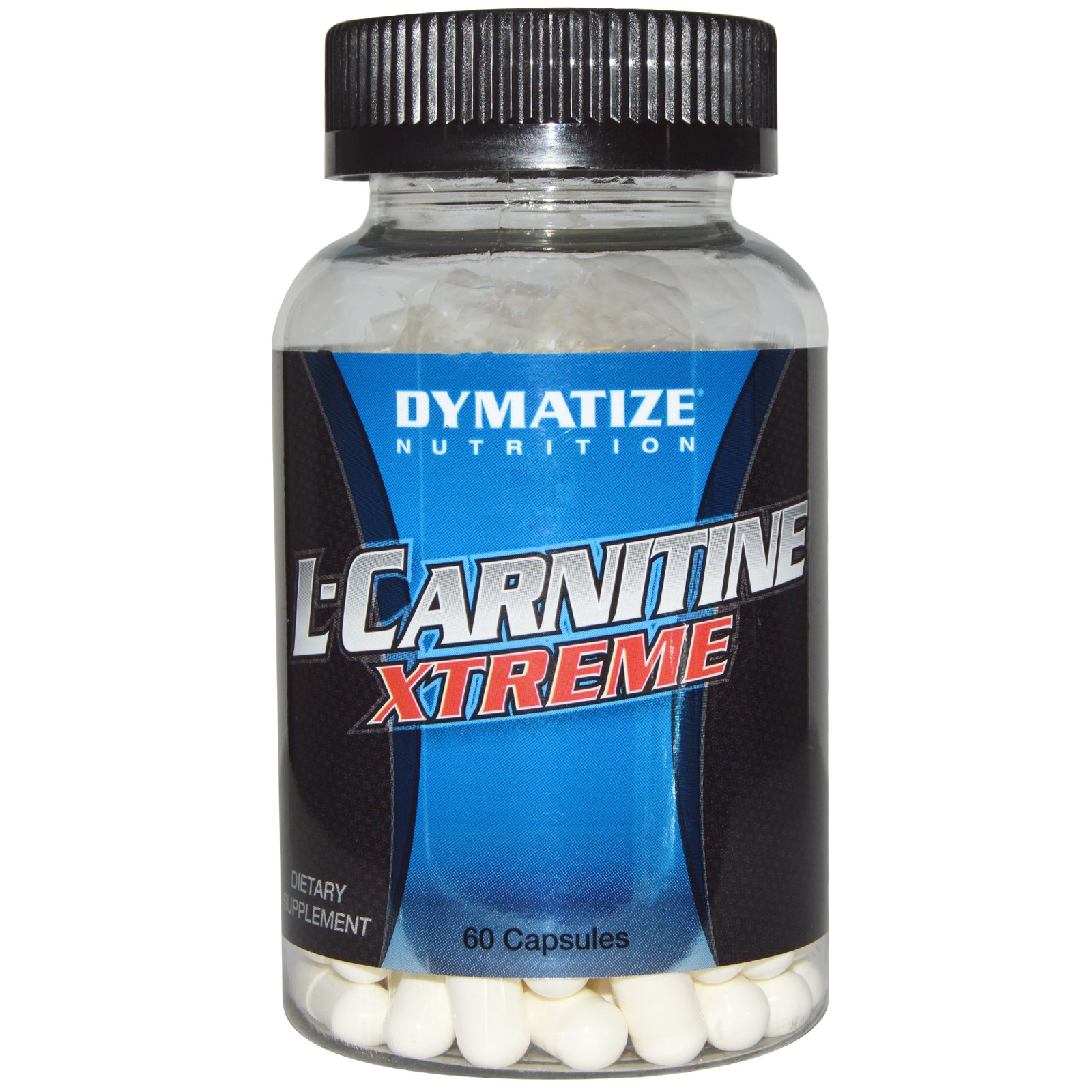 Dymatize Nutrition, L-карнитин Xtreme, 60 капсул