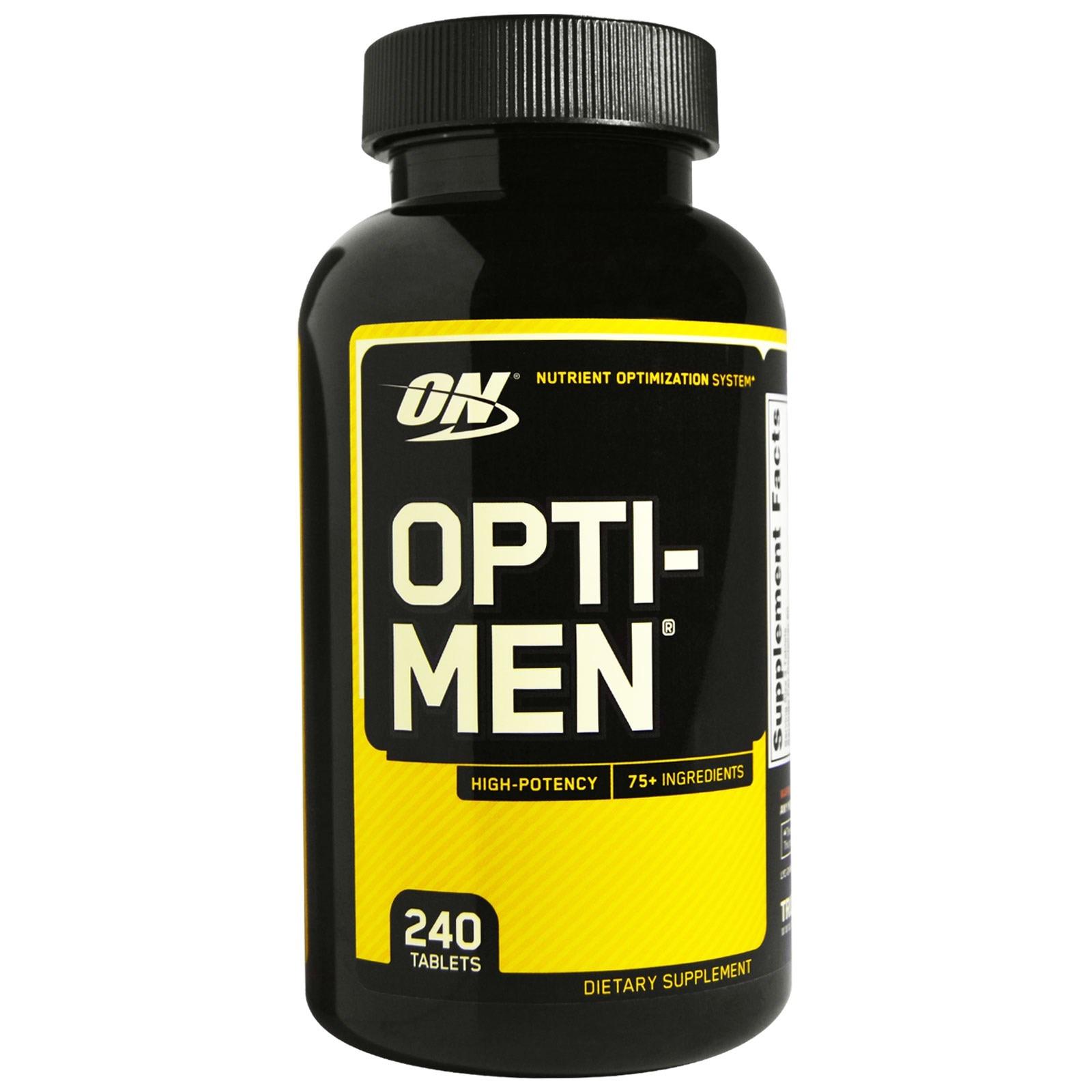 Optimum Nutrition, Opti-Men (240 Таблеток)