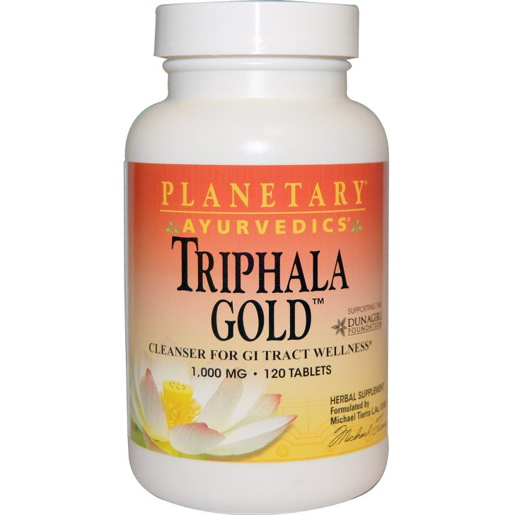 Planetary Herbals, Ayurvedics, Triphala, 1000 мг