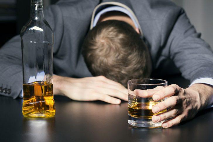 Фото алкоголика