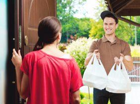 Услуги доставки еды класса люкс