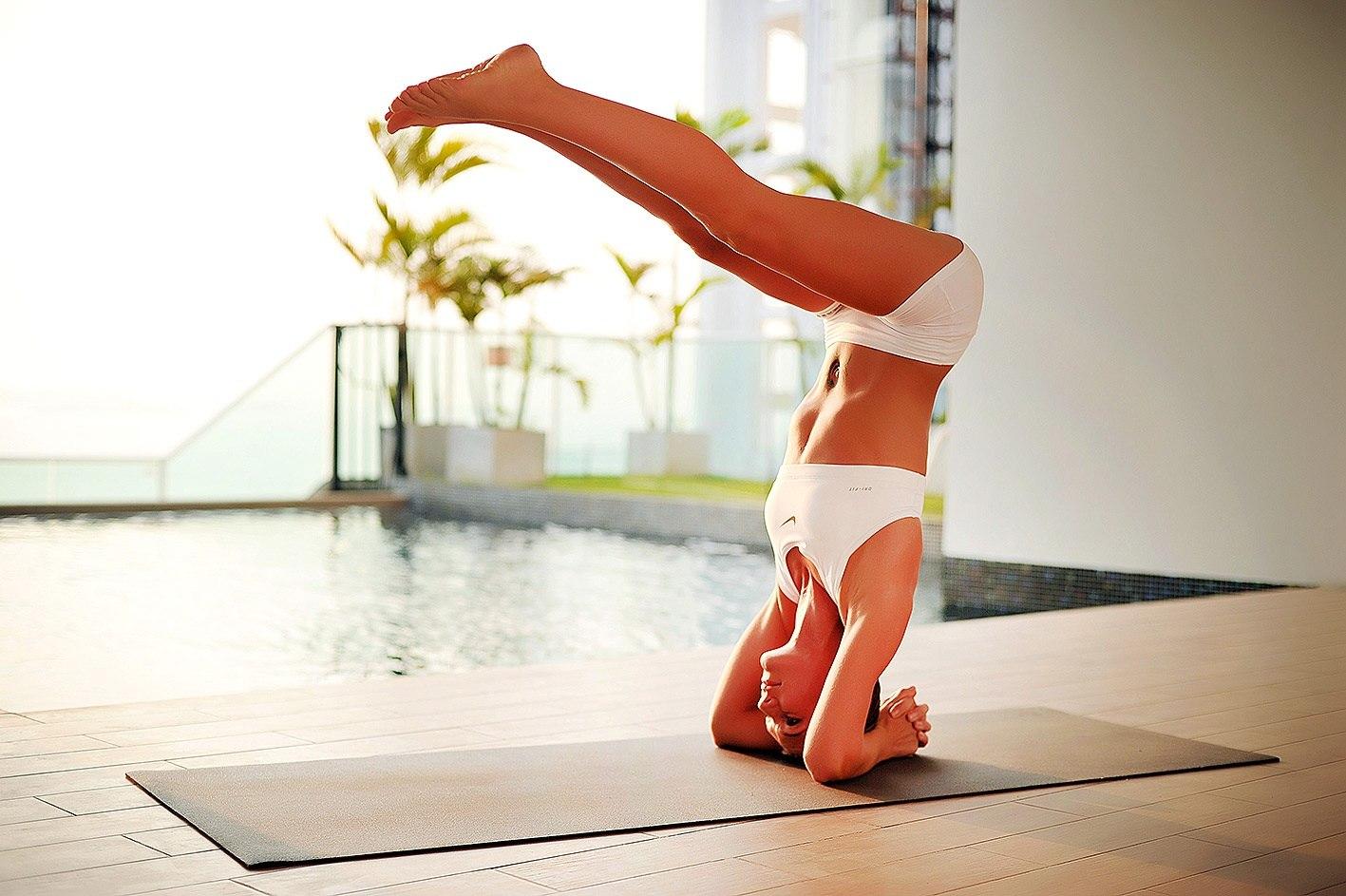 Домашняя йога — эффективная альтернатива диетам