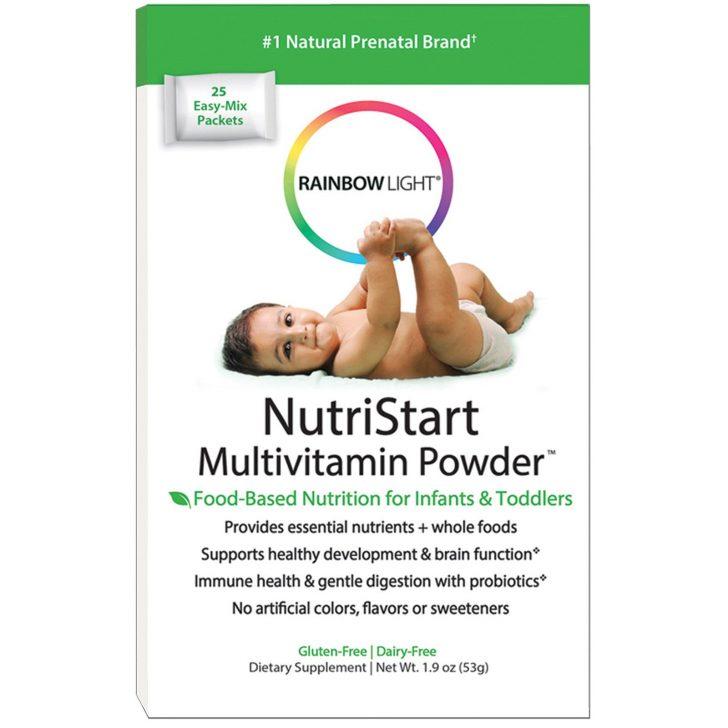 Rainbow Light, NutriStart, мультивитамины в порошке
