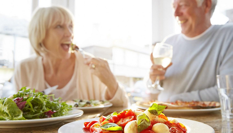 Фото пожилые вегетарианцы