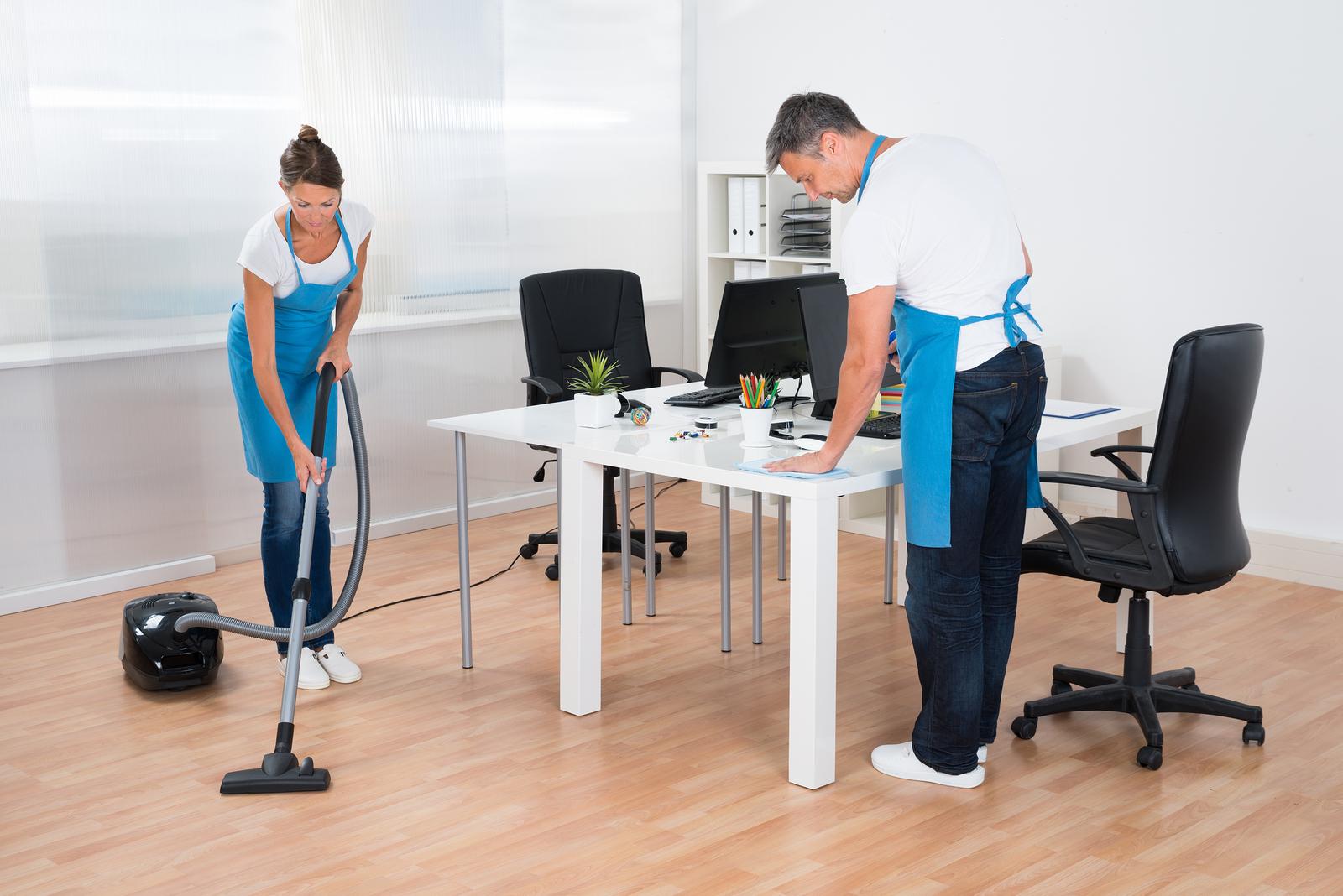 Уборка офисных помещений: виды услуг