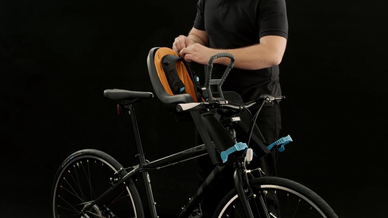 Короткая характеристика велокресел для детей