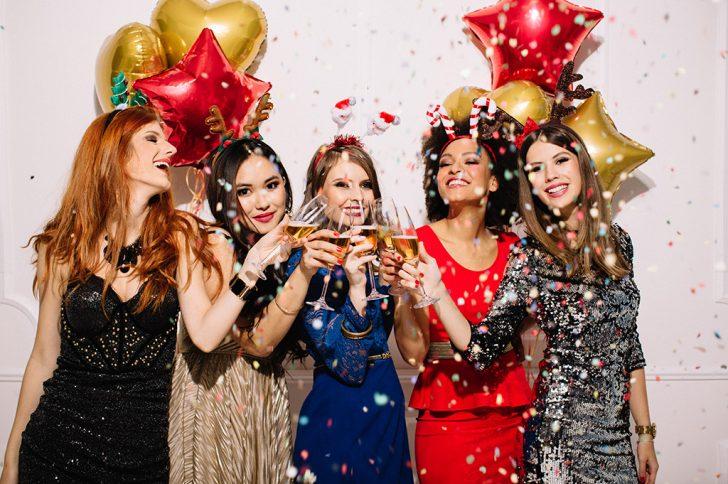 Выбираем праздничное платье на Новый год