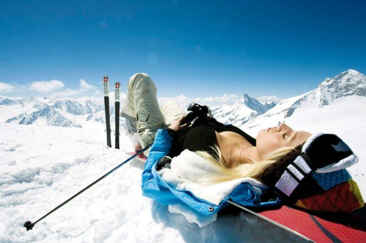 Как похудеть, катаясь на лыжах