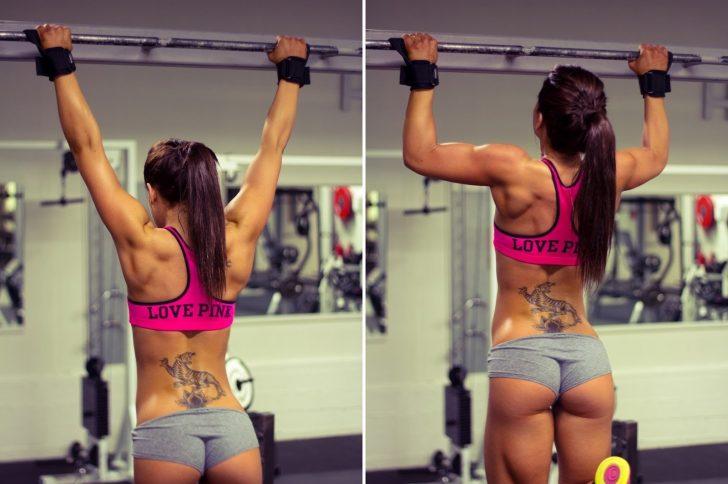Тренировка на спину для девушек — Эффективный комплекс упражнений