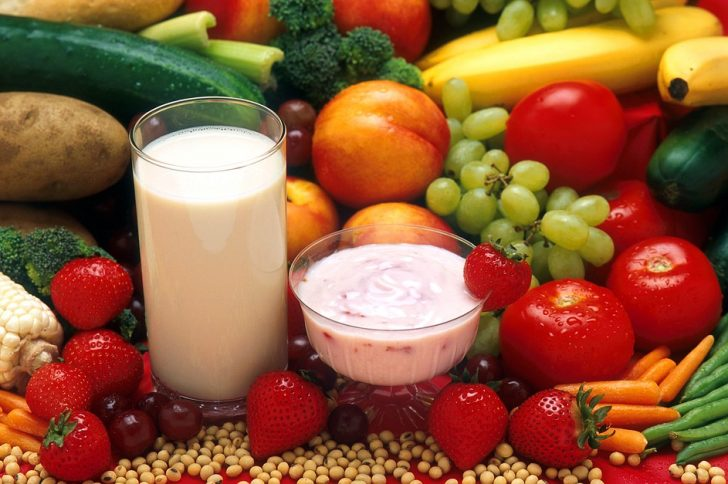 Fruit Healthy Food Vegetables Dairy Food Dietetic