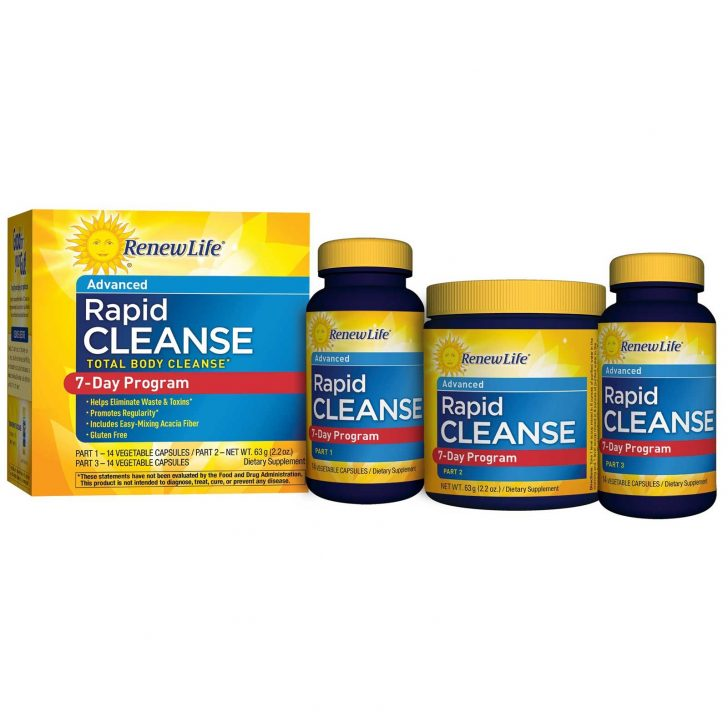 Renew Life, Advanced, Rapid Cleanse, 7-Day Program, 3-Part Program