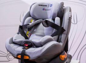 Chicco и Samsung создали автокресло, напоминающее, что ребенок остался в машине один