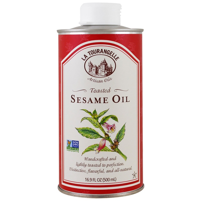 La Tourangelle, Sesame Oil, Toasted, 16.9 fl oz (500 ml)