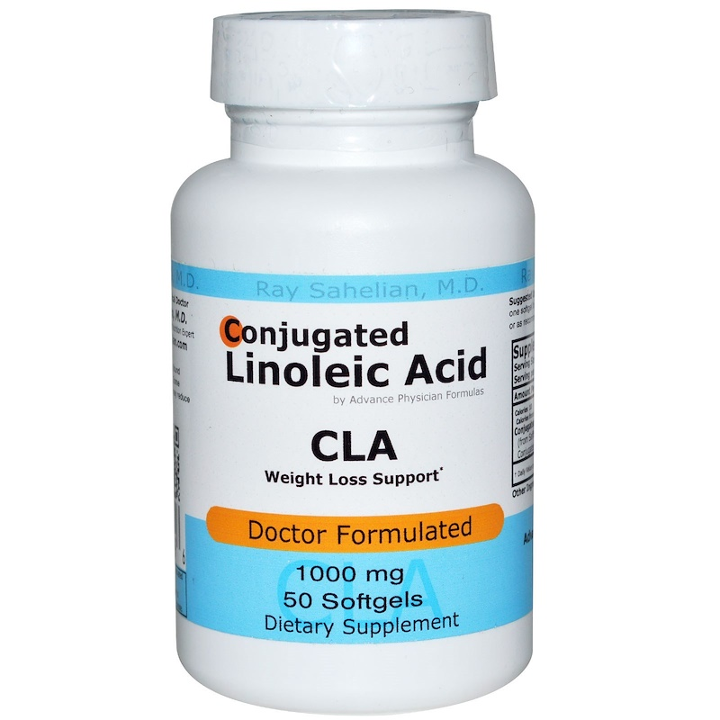 Advance Physician Formulas, Inc., CLA, Conjugated Linoleic Acid, 1000 mg, 50 Softgels