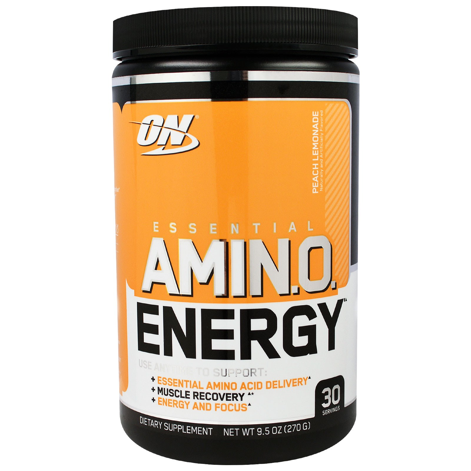 Optimum Nutrition, Essential Amino Energy, Peach Lemonade, 9.5 oz (270 g)