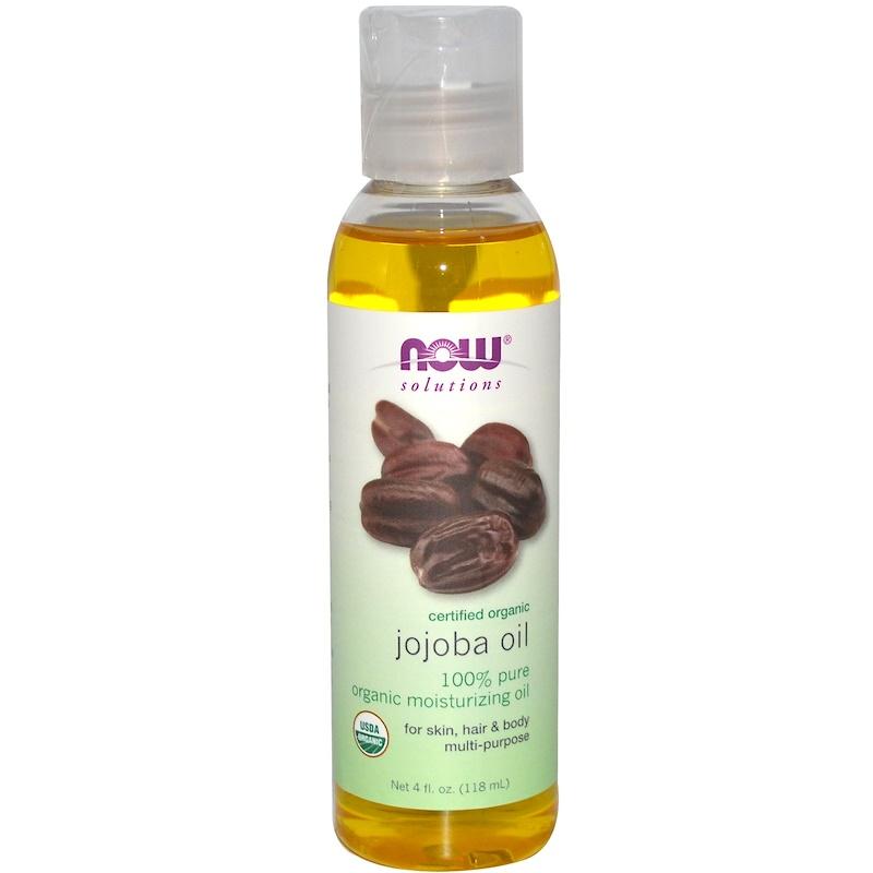 Now Foods, Solutions, Certified Organic, Jojoba Oil, 4 fl oz (118 ml) 2