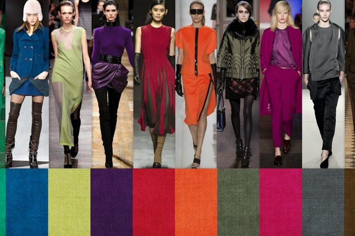 Сочетания цветов в одежде: модные тенденции