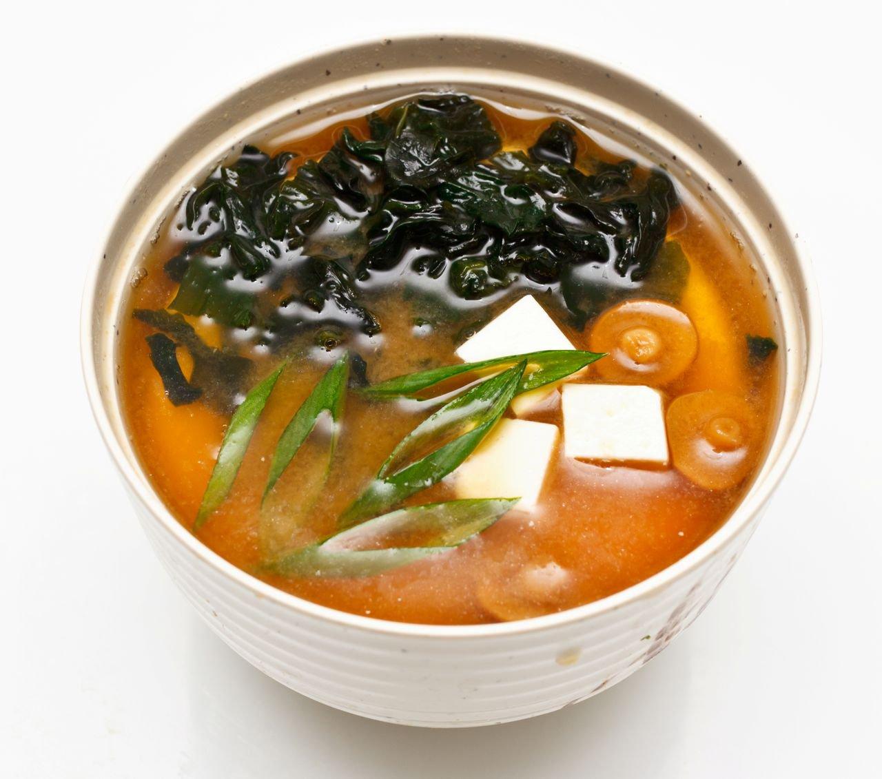 Японский суп с картинками
