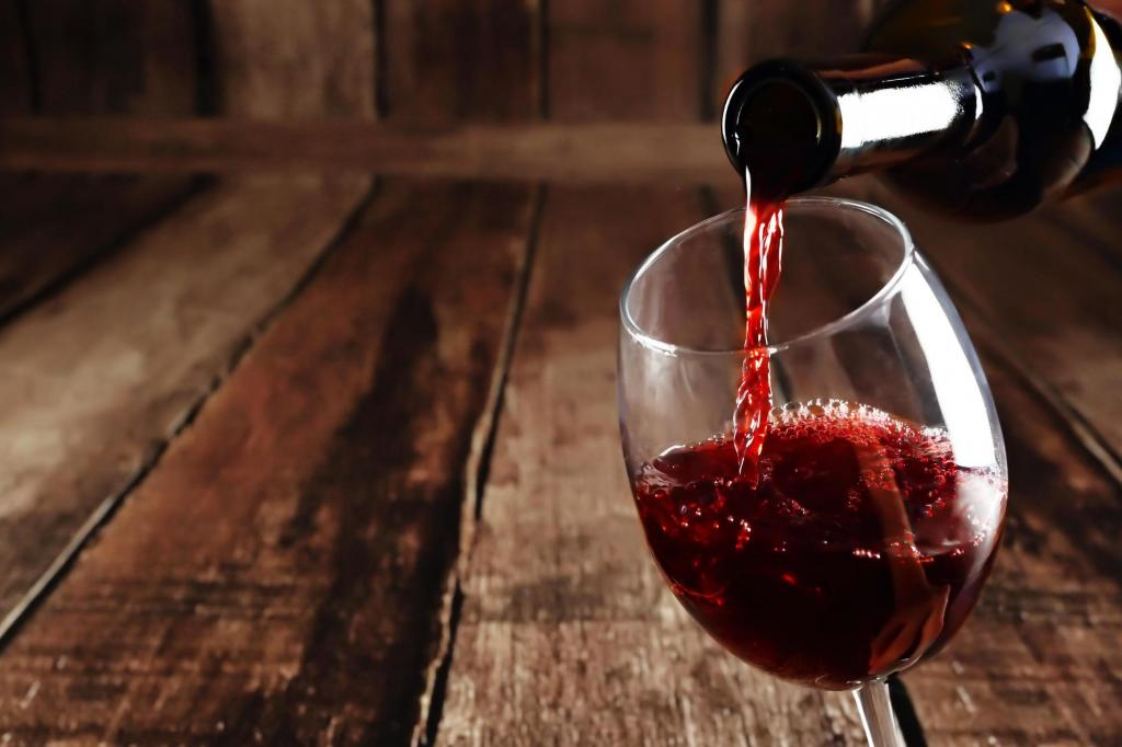 Какое вино можно пить при диете