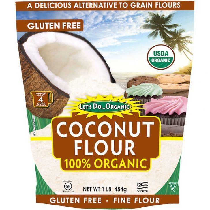Edward & Sons, Let's Do Organic, 100% Organic Coconut Flour, 1 lb (454 g)