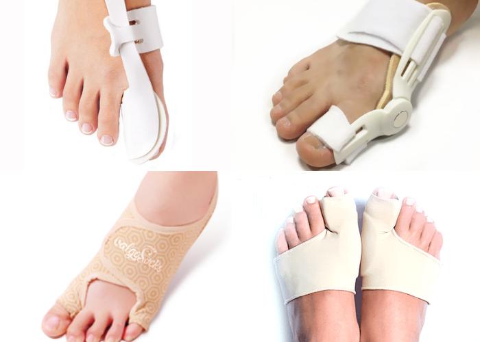 Ортопедические средства от косточки на ноге