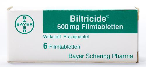 антигельминтное средство Бильтрицид