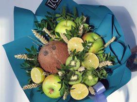 Съедобные букеты: оригинальные композиции из фруктов и ягод