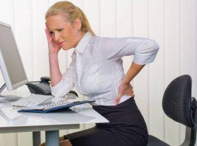 Правильная осанка для офисного работника: ставка на кресло