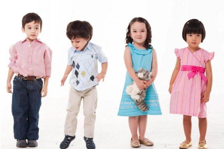 Выбираем цвет одежды для ребенка правильно